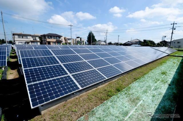 ソーラーパネルのイメージ画像