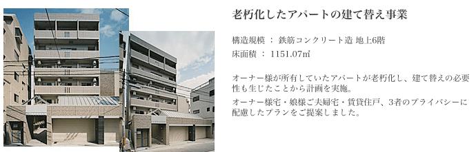 ヤマダ・エスバイエルホームのアパート建て替え事業