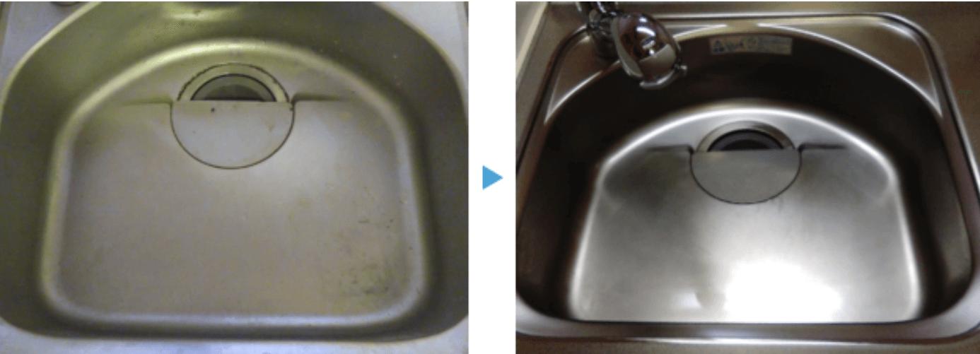 物件のコンロ周りの清掃before/after
