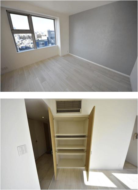 レジディアタワー乃木坂の室内