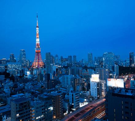 レジディアタワー麻布十番の眺望