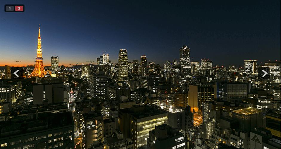 ホワイトタワー浜松町の眺望2