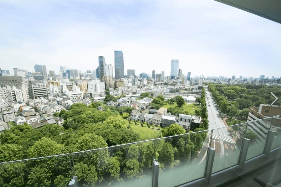 パークコート青山ザ・タワーの眺望