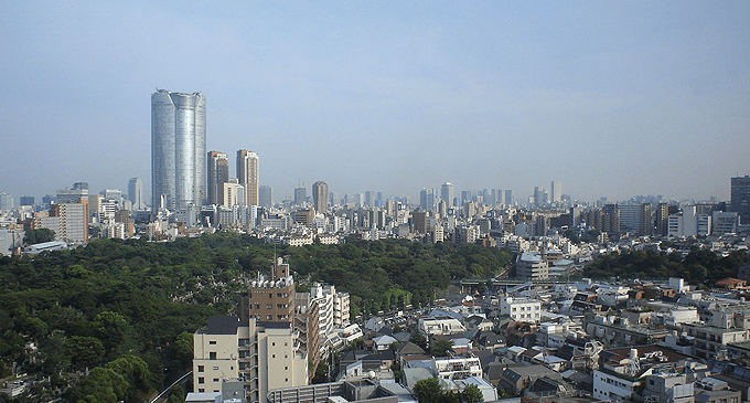青山ザ・タワーの眺望