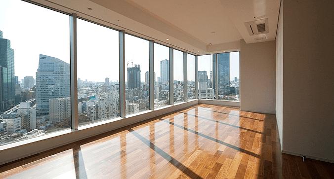 赤坂タワーレジデンスTop of the Hillの眺望