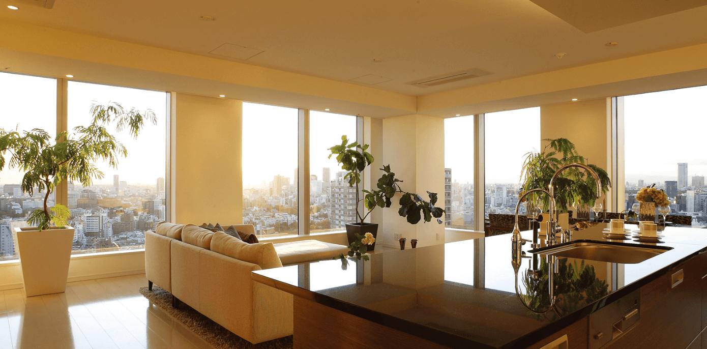 東京ミッドタウン・レジデンシィズの眺望