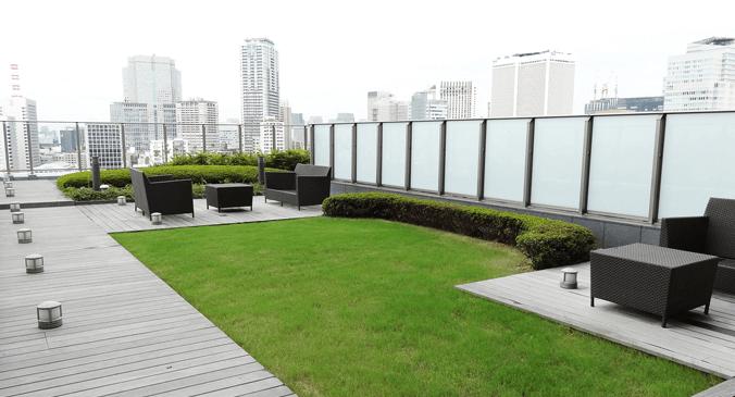 ザ・パーク・レジデンシィズ・アット・ザ・リッツ・カールトン東京のパークテラス