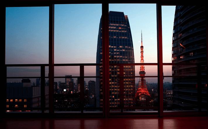 パークキューブ愛宕山タワーの眺望