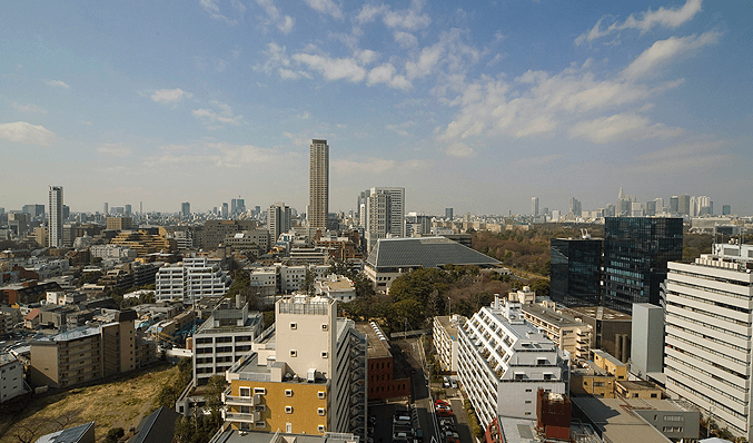パークコート赤坂ザ タワーの眺望