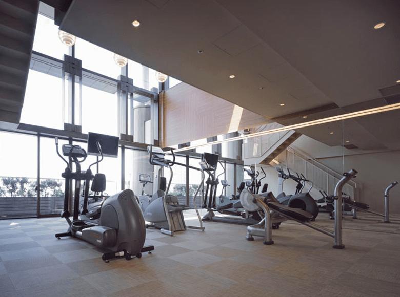 赤坂溜池タワーレジデンスのマシンルーム