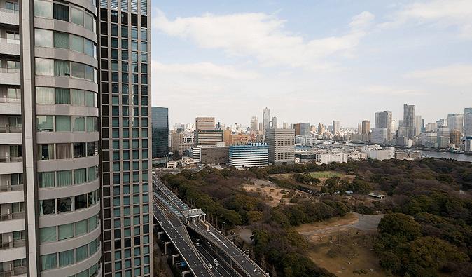 東京ツインパークスの眺望