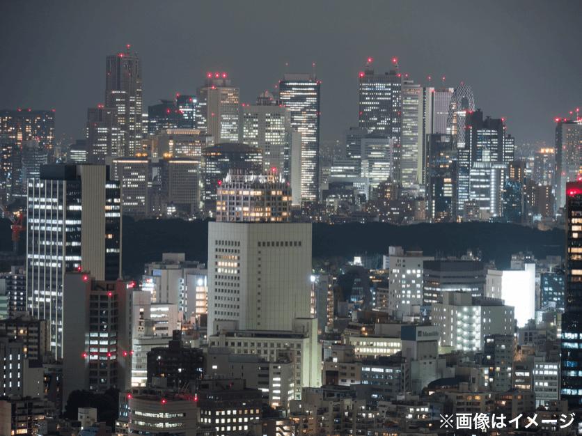 夜景 東京 近
