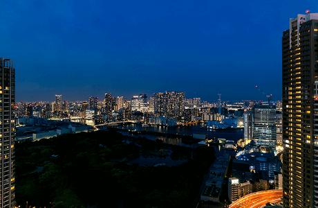 パークコート浜離宮ザ タワーの眺望
