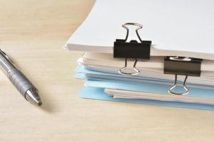 数多くある必要な書類のイメージ