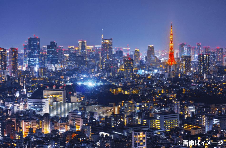 眺望 東京タワー