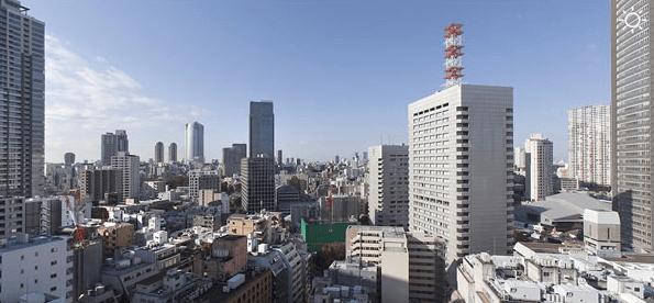 パークハビオ赤坂タワーの眺望