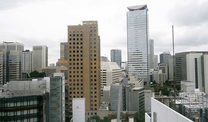 グランスイート虎ノ門の眺望