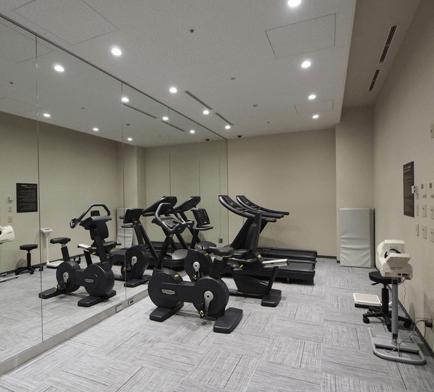 赤坂AIRレジデンスのフィットネスルーム