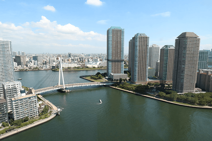パークシティ中央湊 ザ タワーの眺望