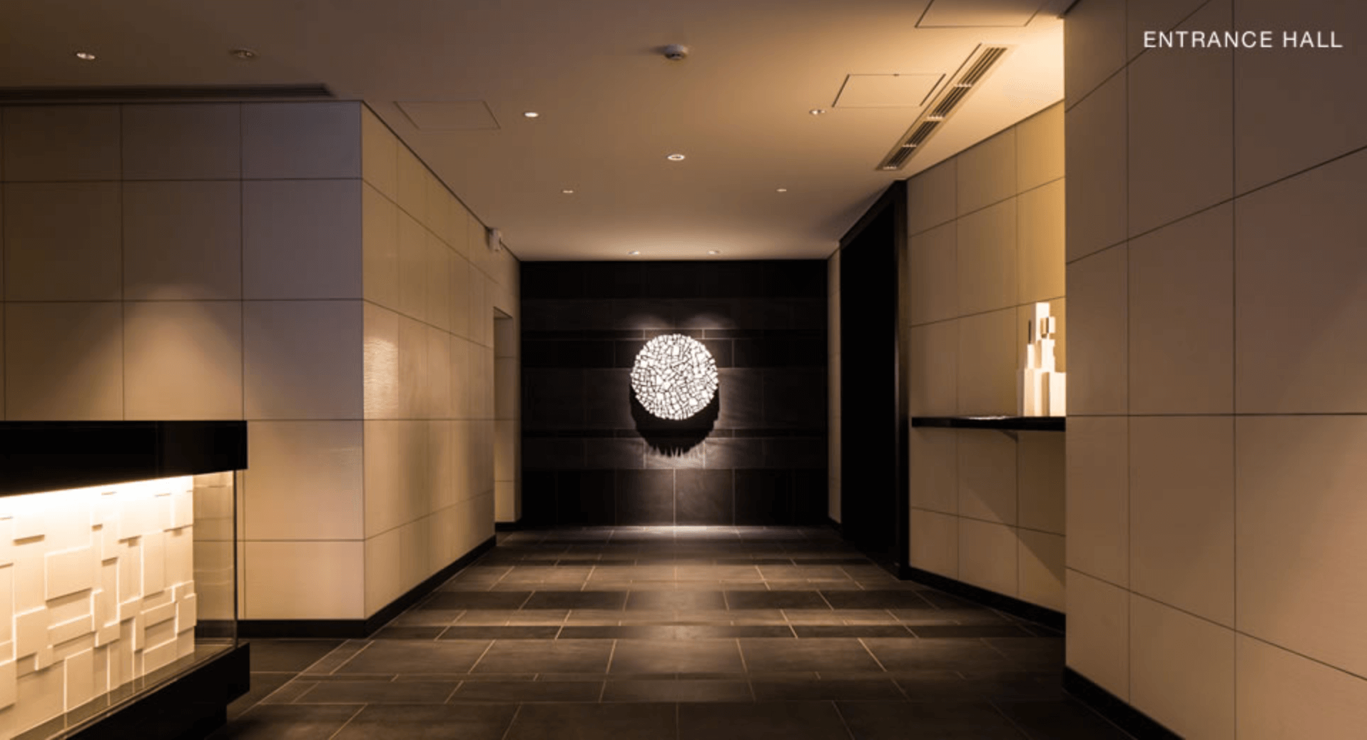 パークハビオ赤坂タワーのエントランス