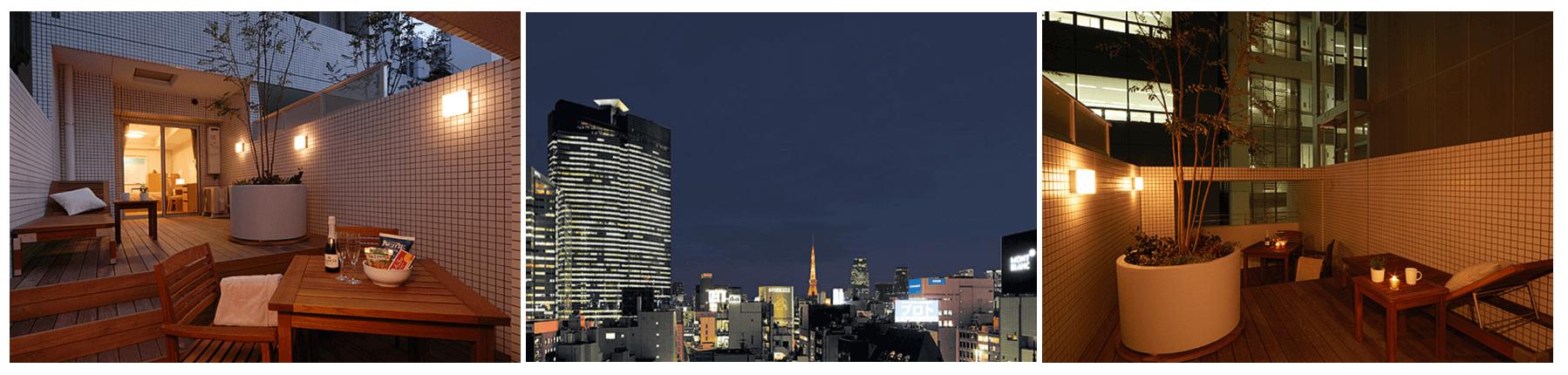 デュープレックス銀座タワーの眺望イメージ