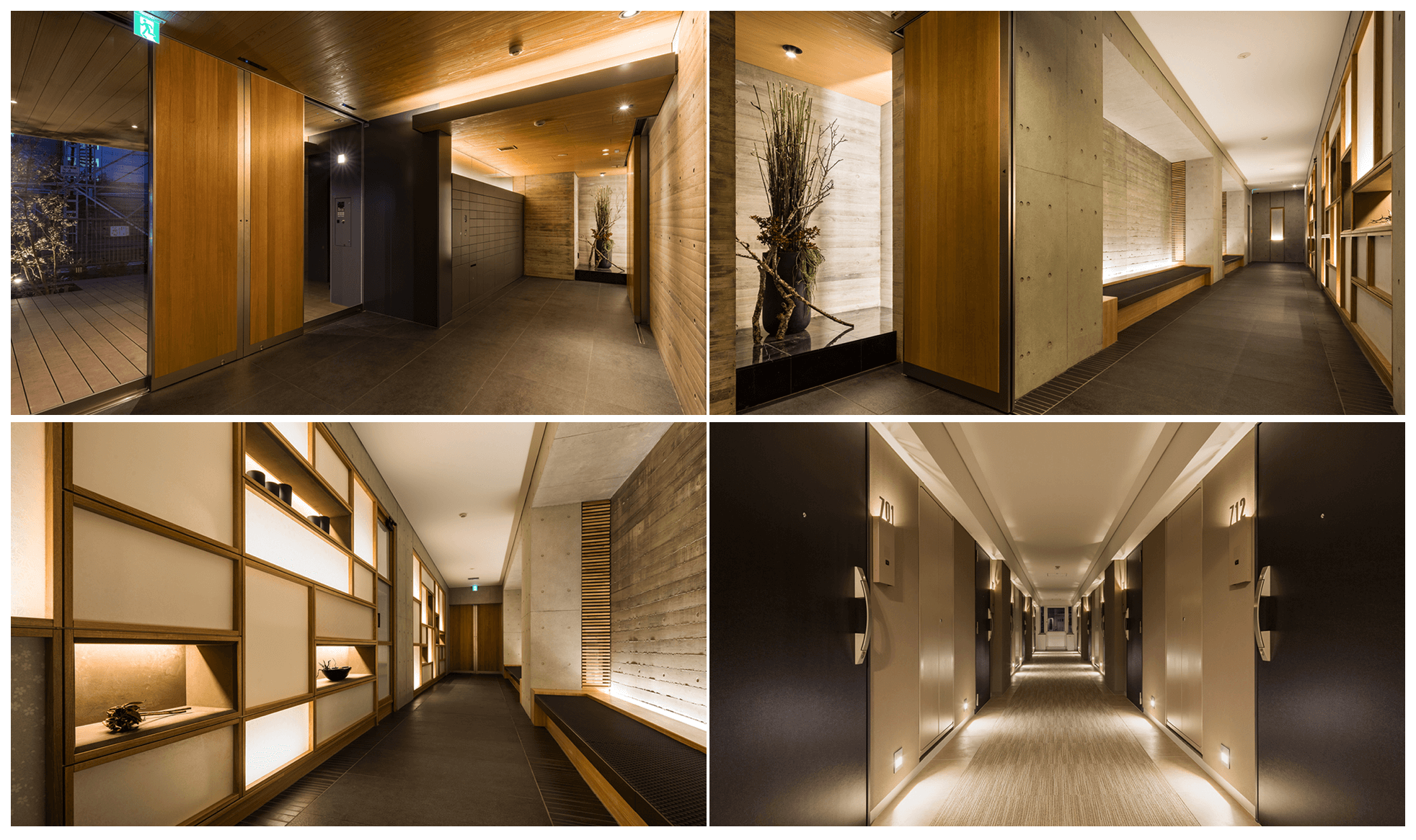 プラウドフラットの内廊下イメージ