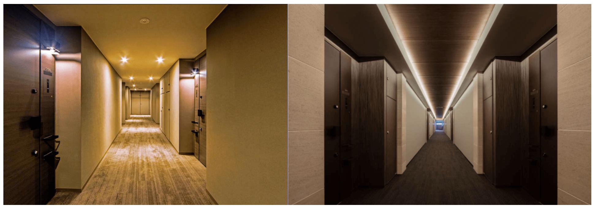 オープンレジデンシアの内廊下イメージ