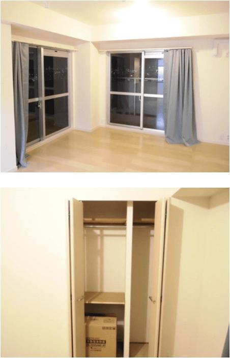 リバーシティ21新川の室内