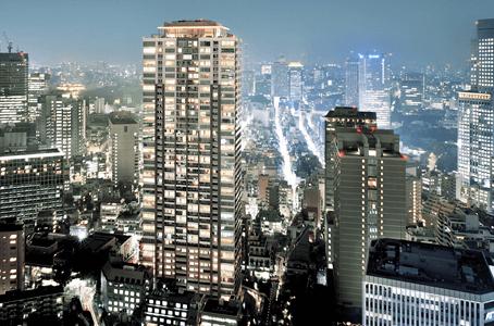 赤坂タワーレジデンスの外観イメージ