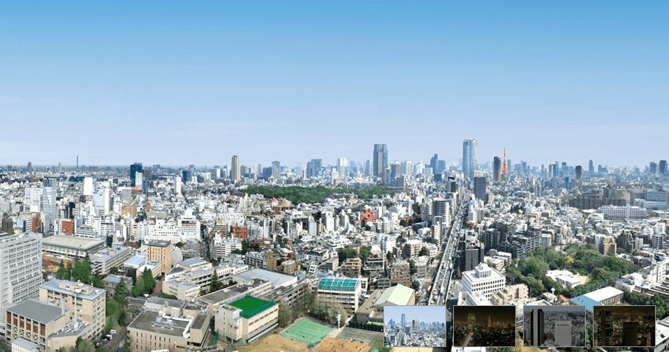 ラ・トゥール渋谷の眺望