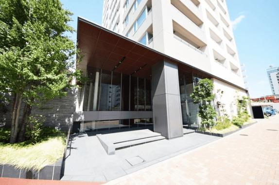 パークタワー渋谷本町のエントランス
