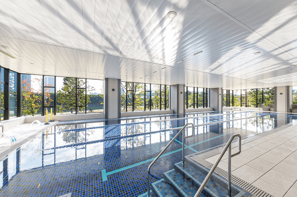 スカイズタワー&ガーデンのプール