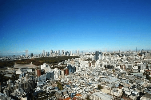 青山パークタワーの眺望