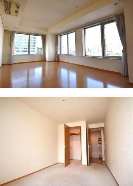 ザ・パークタワー東京サウスの室内