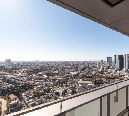 渋谷インフォスタワーハイツの眺望