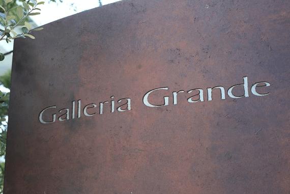 ガレリアグランデのプレート