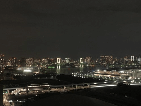 ガレリアグランデの眺望