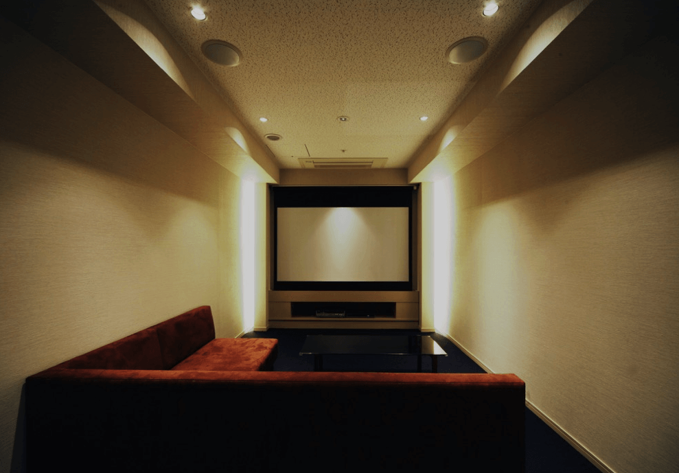 ブリリアタワー大崎のシアタールーム