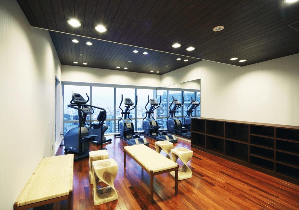 ブリリアタワー大崎のフィットネスルーム