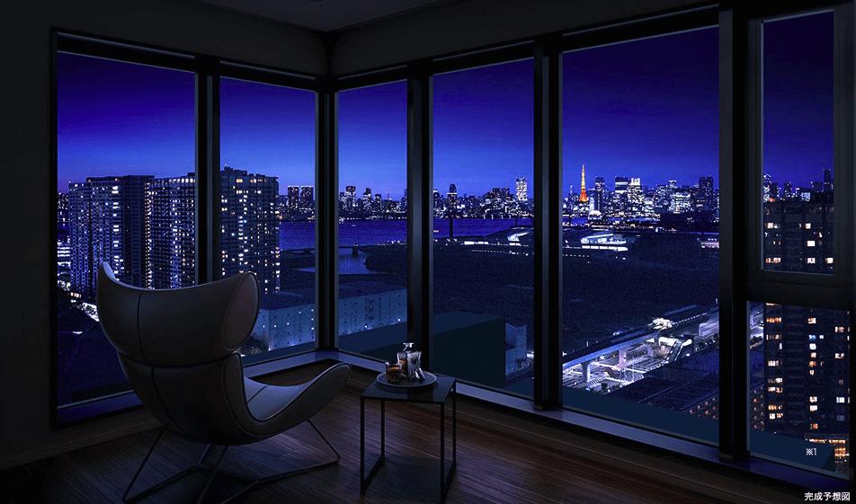 シティタワーズ東京ベイの眺望