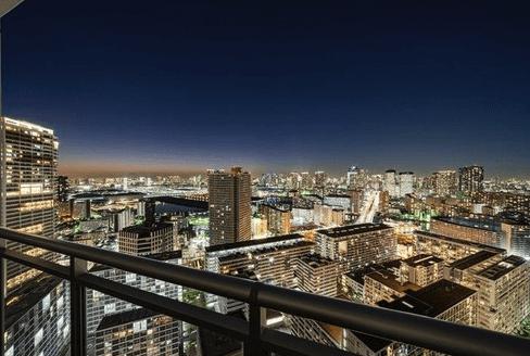 アップルタワー東京キャナルコートの眺望