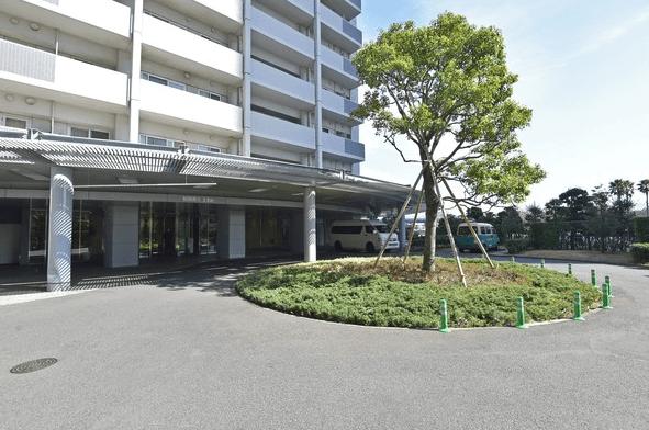 アップルタワー東京キャナルコートのエントランス