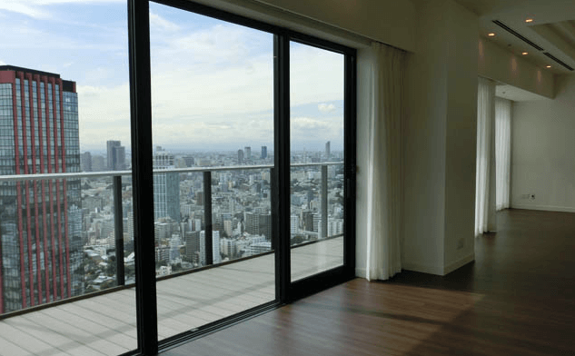 ベルジュ三田の眺望