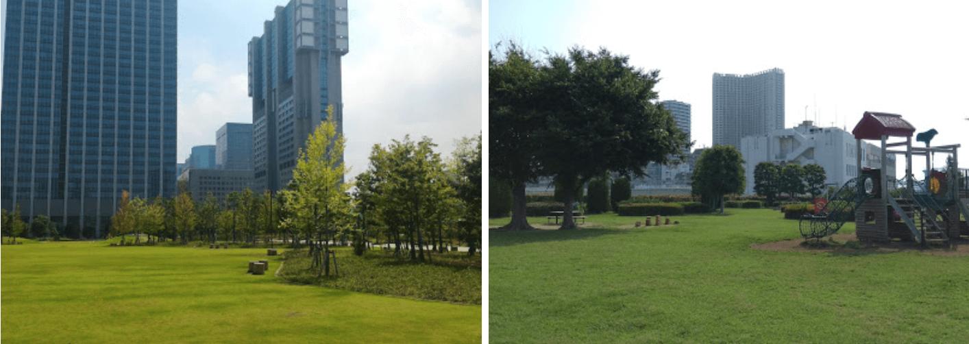 港区立芝浦中央公園のイメージ