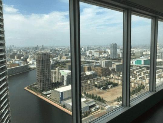 ビーコンタワーレジデンスの眺望
