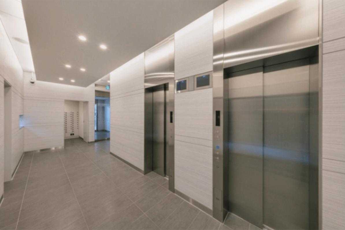 ヒューリックレジデンス板橋のエレベーターホール