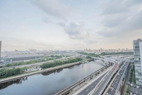 ブリリアタワー品川シーサイドの眺望