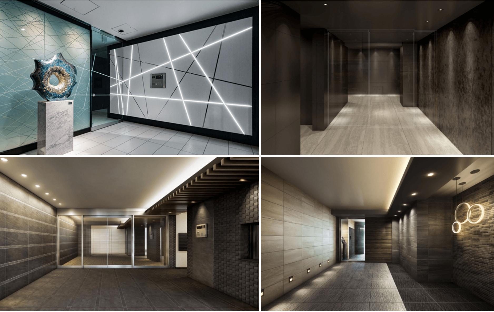 メイクスデザインのエントランスホール