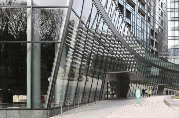 セントラルパークタワー・ラ・トゥール新宿のエントランス