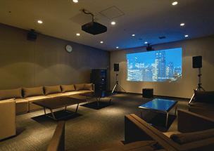 セントラルパークタワー・ラ・トゥール新宿のシアタールーム